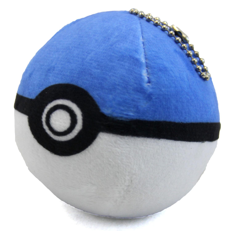 Pokemon 3 Plush Blue Pokeball New 3 Inch Poke Ball Stuffed