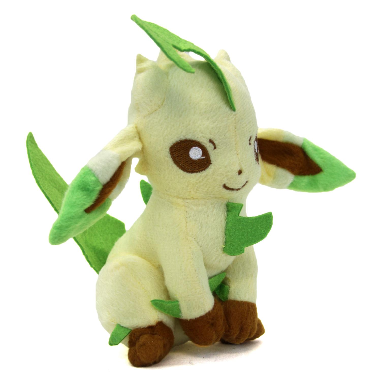 Plush Toys Product : Pokemon quot plush sitting leafeon new inch diamond