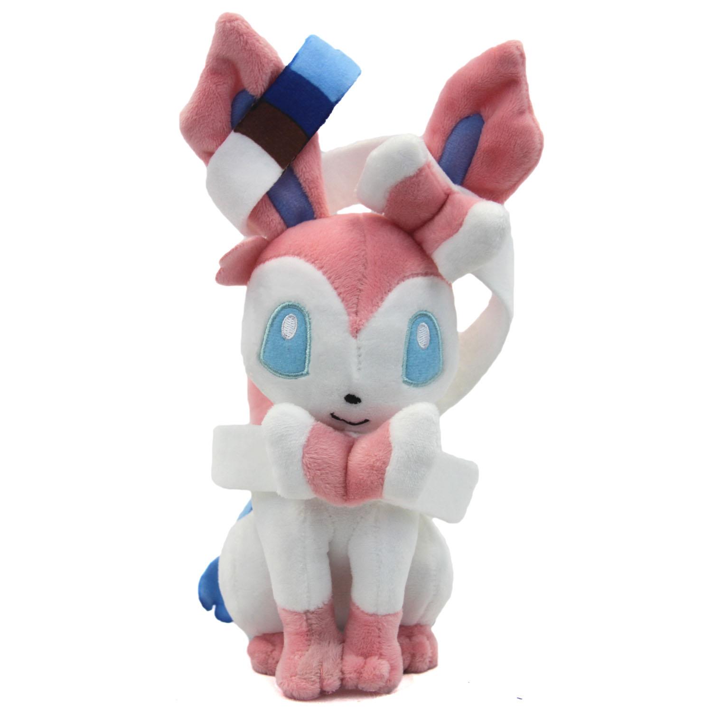 Plush Toys Product : Pokemon quot plush sylveon new inch gen vi y nymphia