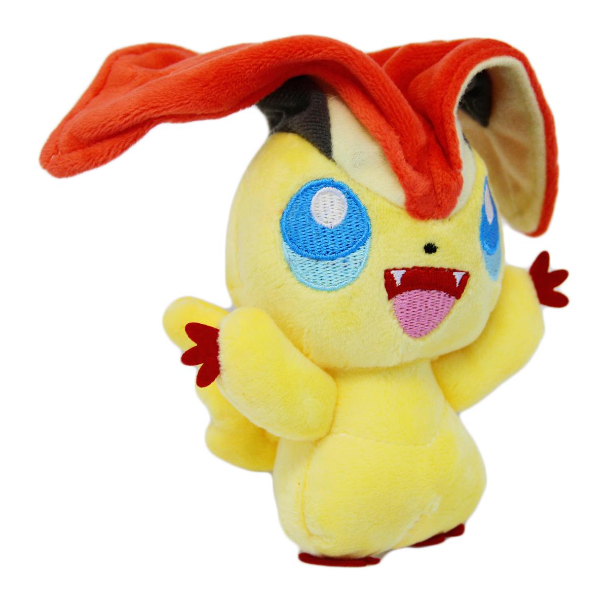 Plush Toys Product : Pokemon quot plush victini new inch black white cute