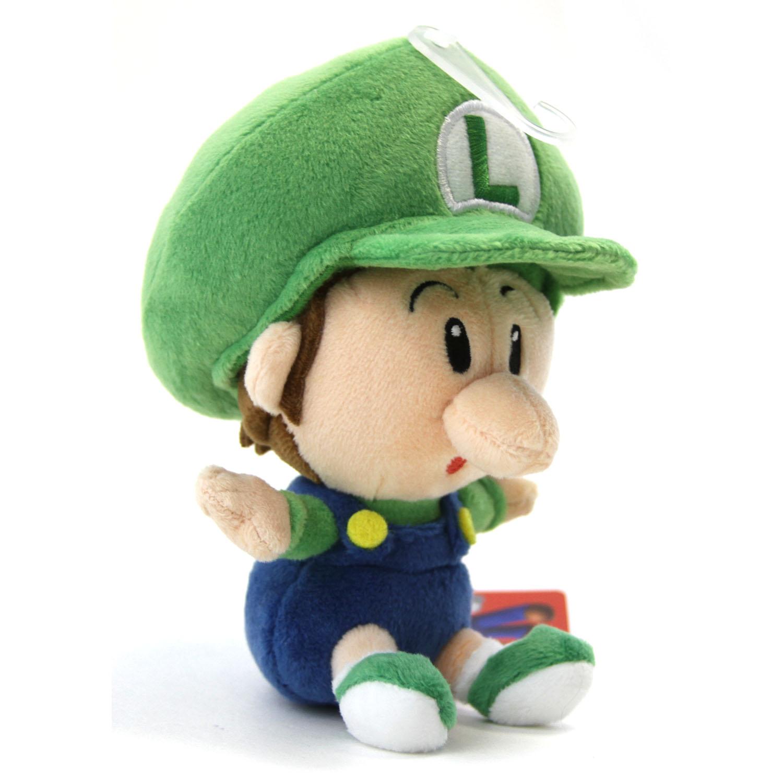"""Super Mario Bros. 5"""" Plush - BABY LUIGI San-Ei 1248 ..."""